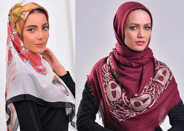 روسری با طرح های اسلیمی