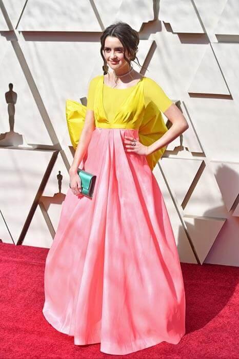 لورا مارانویکی از شاد ترین لباس سلبریتی ها در نود و یکمین دوره جوایز آکادمی