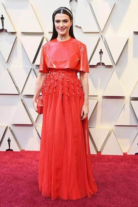 لباس قرمز در مراسم اسکار