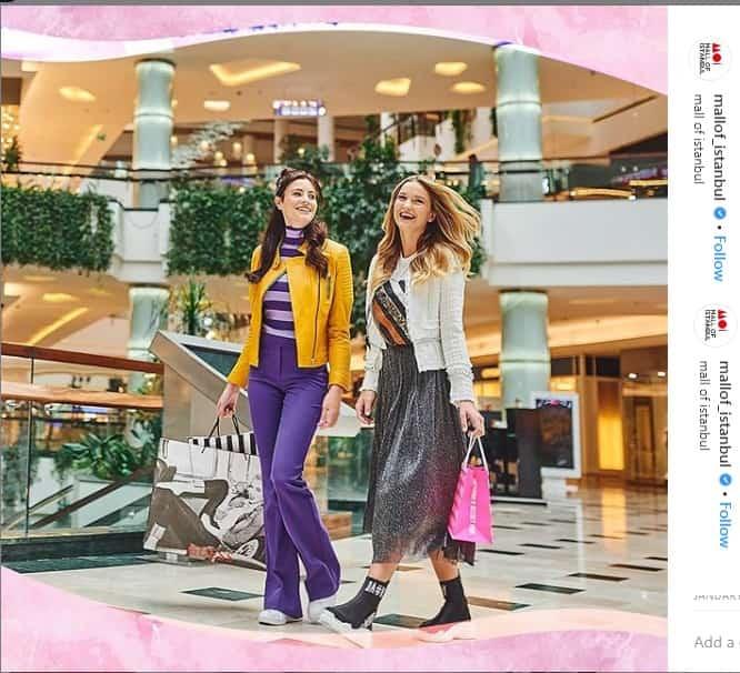 اینستاگرام مرکز خرید مال استانبول