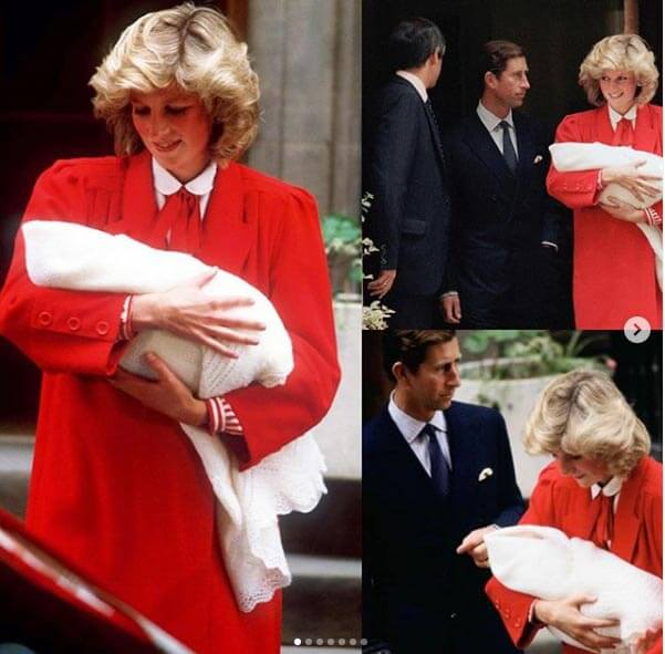 تصویری تاریخی از لحظه تولد ویلیام، همسر کیت میدلتون