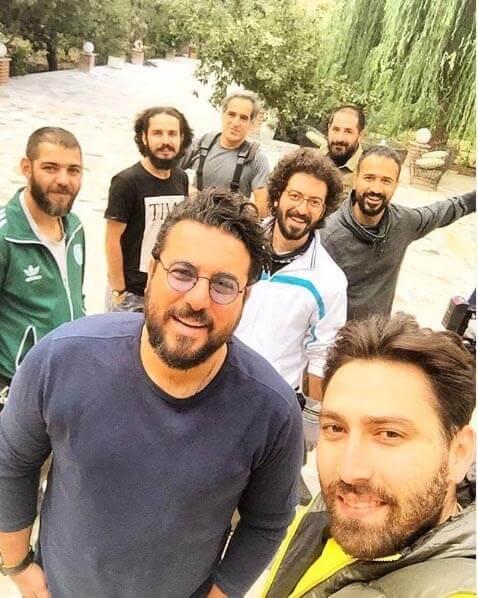تیپ های خودمانی محسن کیایی