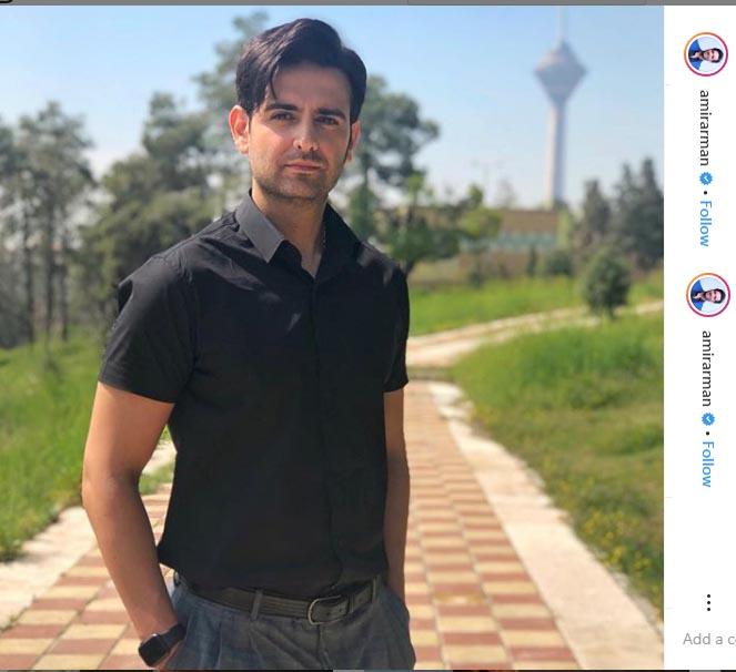 استایل های اسپرت تابستانی امیر حسین آرمان