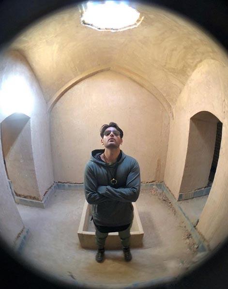 امیر حسین آرمان از ایرانگردی های زمستانی خود رونمایی کرده است