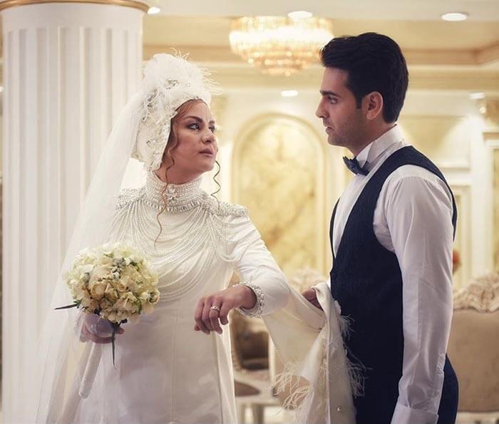 سکانس عروسی کاوه و کتایون در فصل اول سریال مانکن