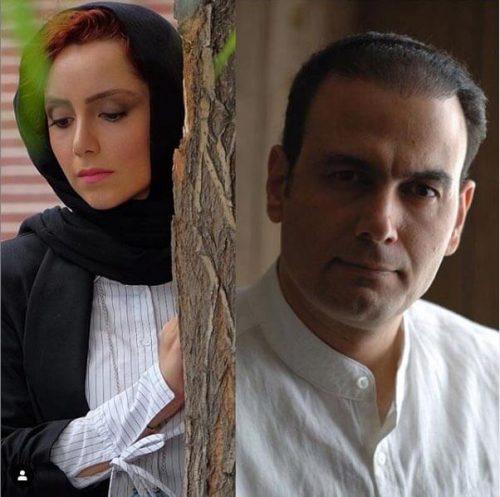 نازنین بیاتی در دی ماه ۹۷، علیرضا قربانی برای فیلم «زعفرانیه ۱۴ تیر»