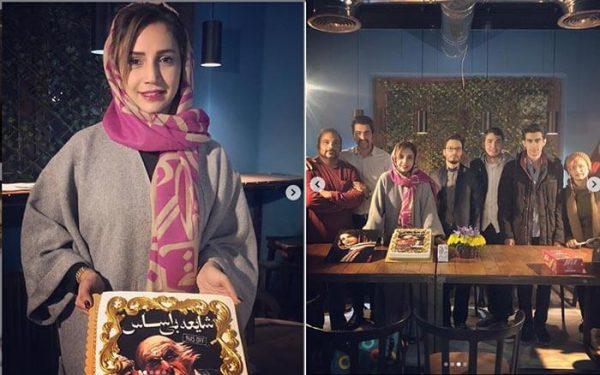 تیپ زمستانی شبنم قلی خانی را در تماشاخانه مهرگان تهران