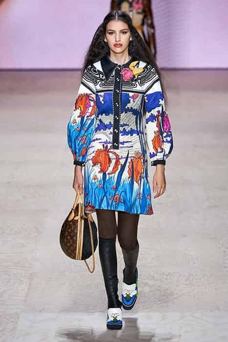تیپ دخترانه بهاره ۹۹ به رنگ سال ۲۰۲۰ از برند لویی ویتون