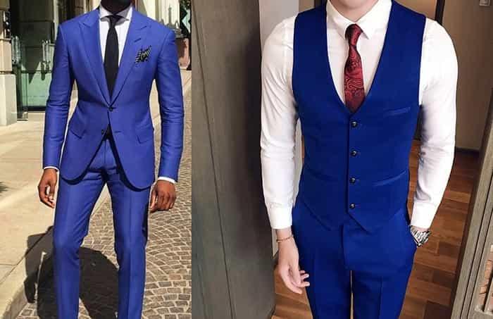 تیپ مردانه با CALSSIC BLUE