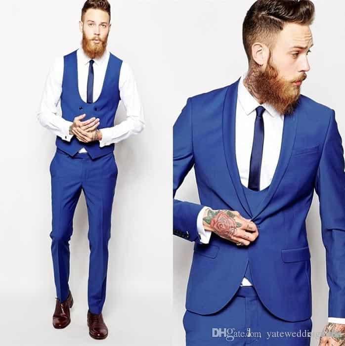 کت و شلوار مردانه CLASSIC BLUE