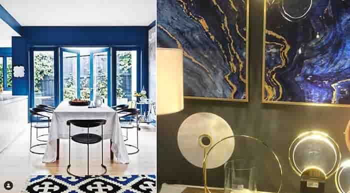آبی کلاسیک طراحی دکوراسیون داخلی و معماری