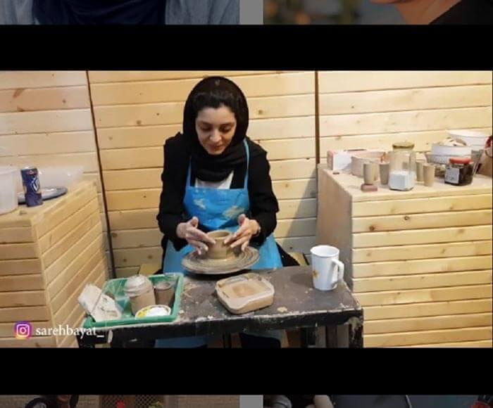 ساره بیات و همه چیز درباره عکسها و استایل های جذابش (بیوگرافی ساره بیات )