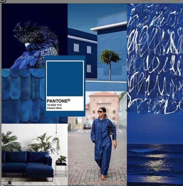 لئاتریس ایزمن رنگ آبی کلاسیک