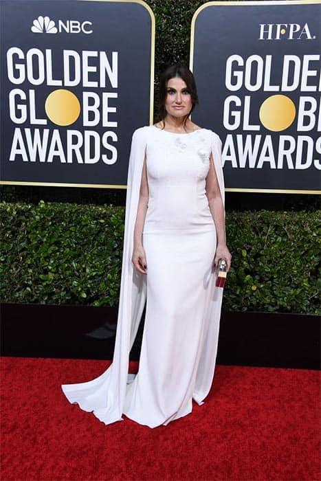 لباس سفید رنگ بلند لدینا منزل (LDINA MENZEL)