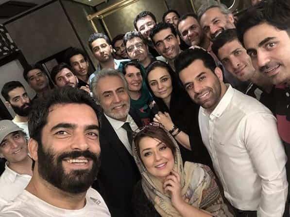 رضا بهرام، مهمان پشت صحنه سریال دل
