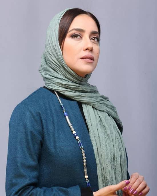 بازیگر محجبه و مسلمان اهل ایران