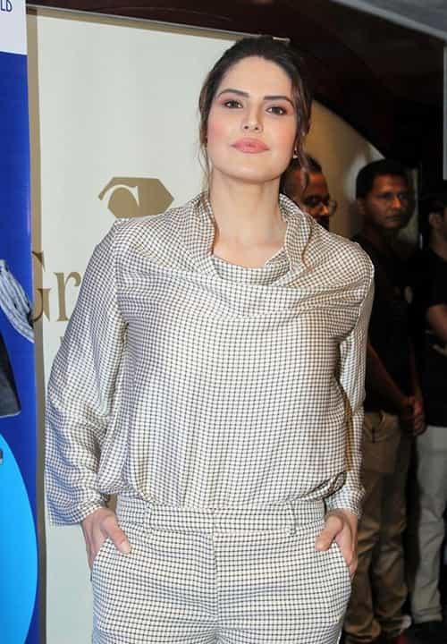 زرین خان از زیباترین زنان 2020