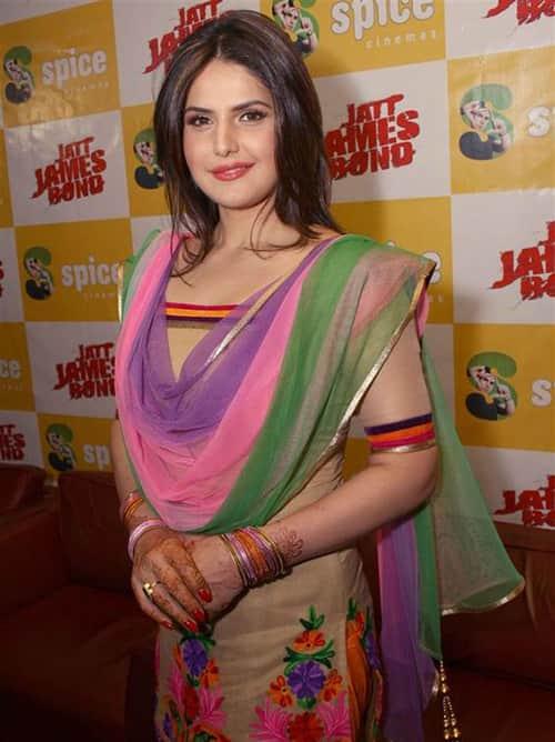 زرین خان مدل و بازیگر هندی زیباترین زنان