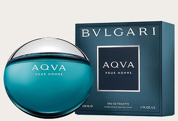 بهترین ادکلن های مردانه سال محصول BVLGARI AQUA POUR HOMME BY BVLGARI