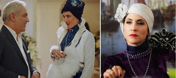 مد گردی با ویشکا آسایش : ژاله کبیری سریال دراکولا