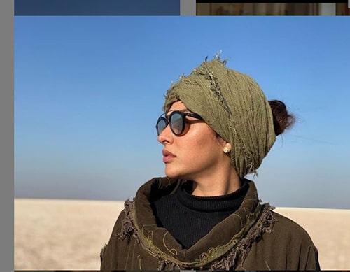 روسری آناهیتا درگاهی