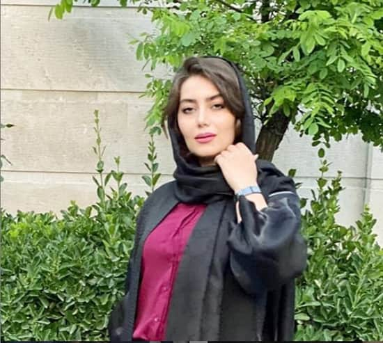 هدیه بازوند در سال 99 و در حین ساخت فصل سوم سریال نوروزی نون خ