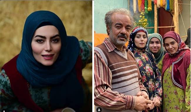 کلکسیون لباس های خوش دوخت و رنگارنگ هدیه بازوند و خواهرانش در فصل دوم سریال نوروزی نون خ